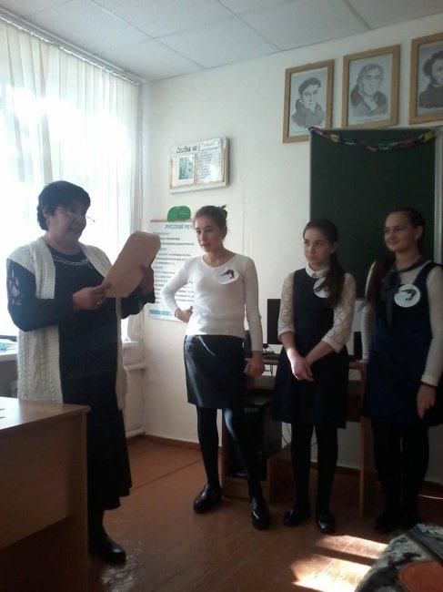 """КВН в 7 """"а"""" классе по русскому языку."""