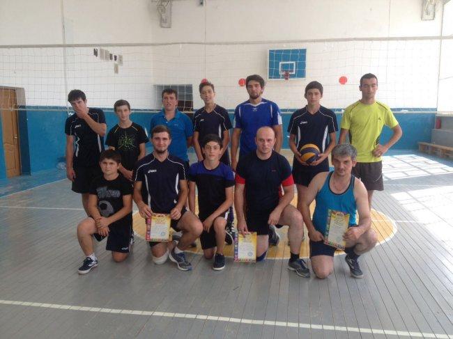Волейбольный турнир среди предприятий и организаций Хабеза и Хабезского района.